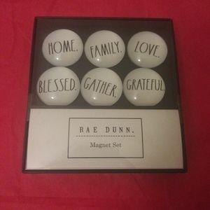 Rae Dunn BLESSED FAMILY HOME LOVE Magnets